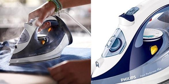 Funcionamiento de Plancha a Vapor Philips
