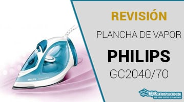 Plancha de Vapor Philips GC2040/70