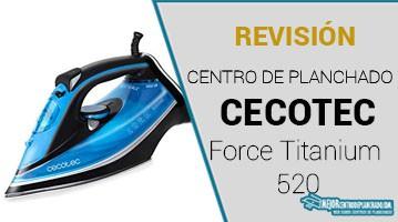 Plancha Cecotec Forcetitanium 520